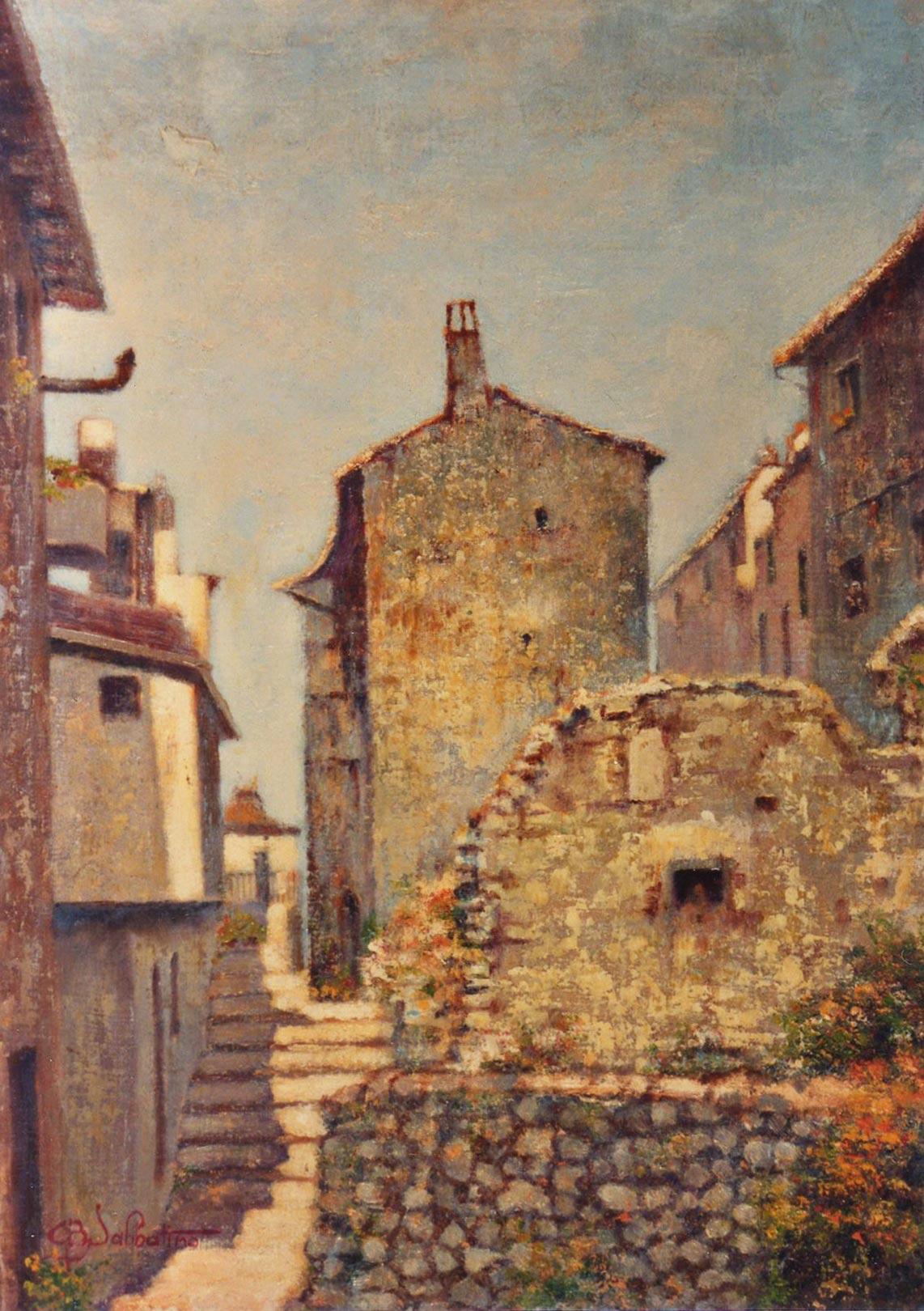 quadri paesaggi Tagliacozzo abruzzo faesite Sabbatino