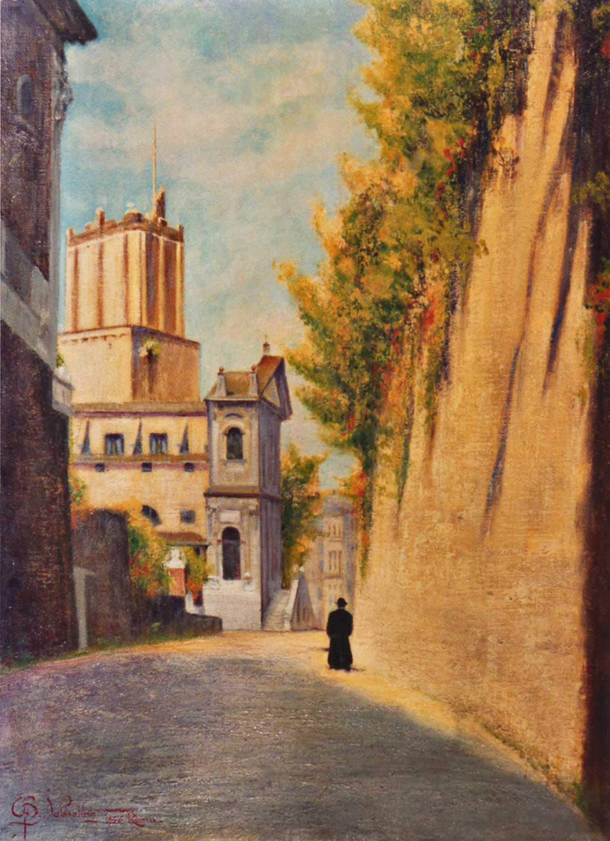 quadri roma salita grillo olio Sabbatino