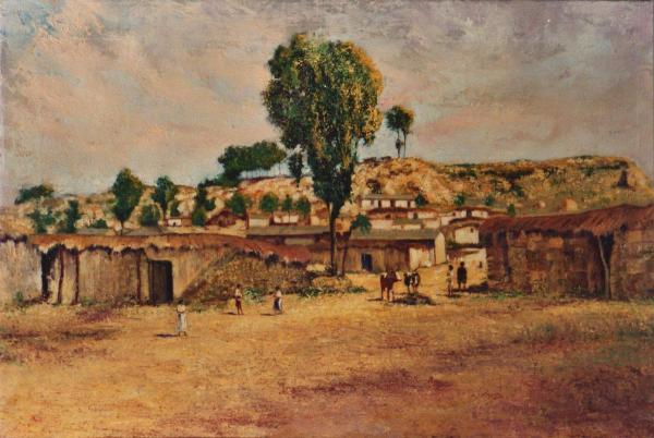 quadri africani paesaggio keren africa Sabbatino