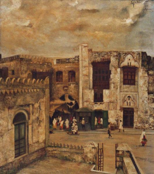 quadri africani paesaggi fortezza faesite Sabbatino