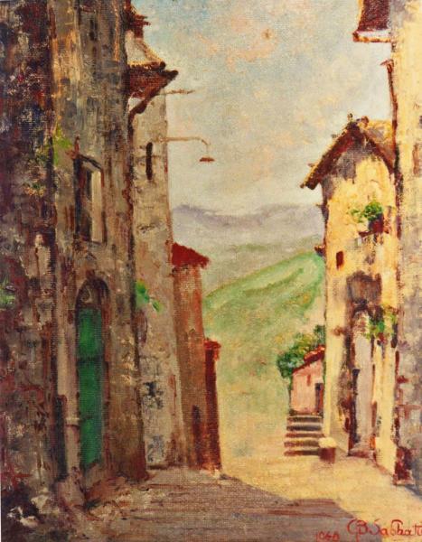 quadri paesaggi canterano abruzzo faesite Sabbatino