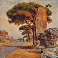 quadri di roma appia antica Sabbatino